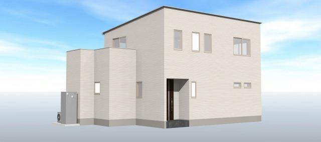 大分市田尻の新築建売 3LDK(3,140万円)の建売物件外観画像 ジェットの建売もいいけど坂井建設の建売も必見です!
