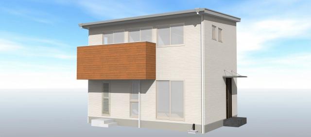 大分市田尻<C棟>の新築建売 3SLDK(2,570万円)の建売物件外観画像 ジェットの建売もいいけど坂井建設の建売も必見です!