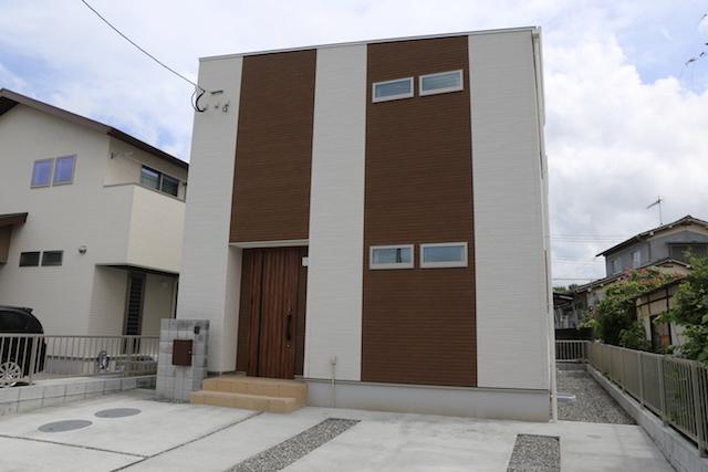 大分市中戸次の新築建売 4SLDK(2,640)の外観画像 ジェットの建売が有名ですが坂井建設の建売物件もぜひ見てください!