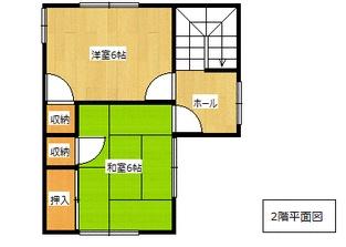富士見が丘の新築建売 6DK(1390)の2F間取り画像 ジェットの建売が有名ですが坂井建設の建売物件もぜひ見てください!