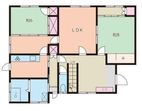曙台の新築建売 6LDK(1430)の1F間取り画像 ジェットの建売が有名ですが坂井建設の建売物件もぜひ見てください!