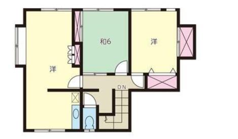 曙台の新築建売 6LDK(1430)の2F間取り画像 ジェットの建売が有名ですが坂井建設の建売物件もぜひ見てください!
