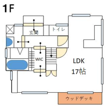 横尾の新築建売 2LDK(1880)の1F間取り画像 ジェットの建売が有名ですが坂井建設の建売物件もぜひ見てください!