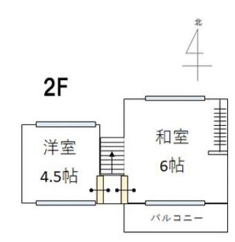 横尾の新築建売 2LDK(1880)の2F間取り画像 ジェットの建売が有名ですが坂井建設の建売物件もぜひ見てください!