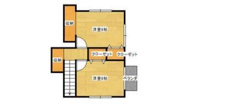 皆春の新築建売 4LDK(2090)の2F間取り画像 ジェットの建売が有名ですが坂井建設の建売物件もぜひ見てください!