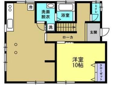 敷戸北町の新築建売 3LDK(2319)の1F間取り画像 ジェットの建売が有名ですが坂井建設の建売物件もぜひ見てください!