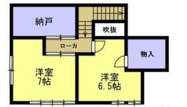 敷戸北町の新築建売 3LDK(2319)の2F間取り画像 ジェットの建売が有名ですが坂井建設の建売物件もぜひ見てください!