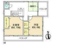 角子原の新築建売 4DK(2350)の2F間取り画像 ジェットの建売が有名ですが坂井建設の建売物件もぜひ見てください!