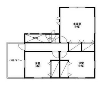 三芳の新築建売 3LDK(2490)の2F間取り画像 ジェットの建売が有名ですが坂井建設の建売物件もぜひ見てください!