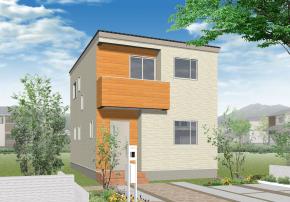 横尾の新築建売 4LDK(2400)の外観画像 ジェットの建売が有名ですが坂井建設の建売物件もぜひ見てください!