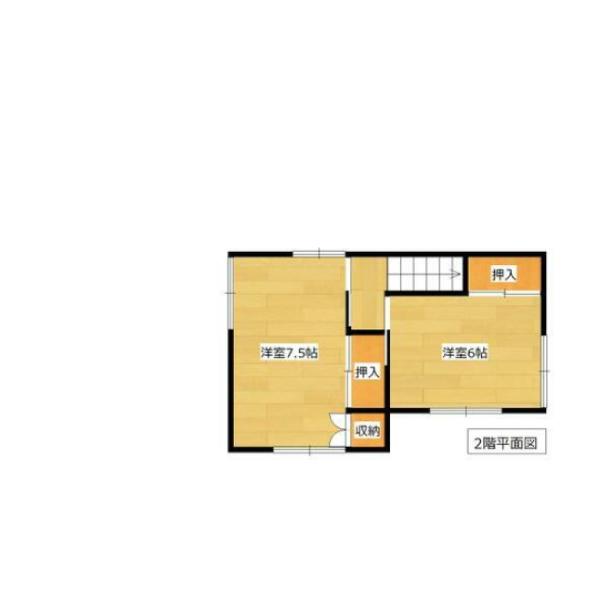 ひばりケ丘の新築建売 5LDK(1620)の2F間取り画像 ジェットの建売が有名ですが坂井建設の建売物件もぜひ見てください!