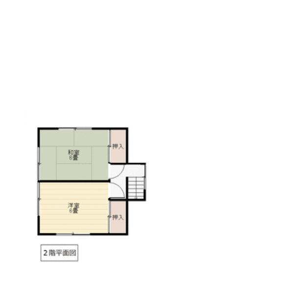 田尻西の新築建売 7DK(1540)の2F間取り画像 ジェットの建売が有名ですが坂井建設の建売物件もぜひ見てください!