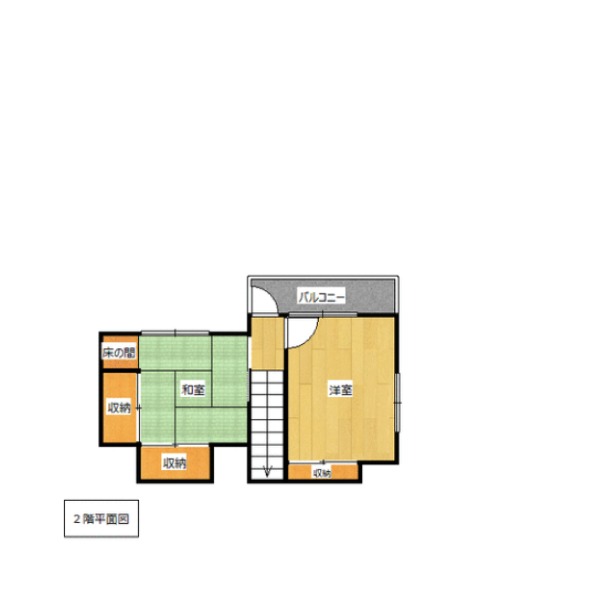 明野西の新築建売 5DK(1670)の2F間取り画像 ジェットの建売が有名ですが坂井建設の建売物件もぜひ見てください!