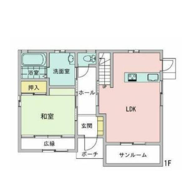 高江中央の新築建売 4LDK(1690)の1F間取り画像 ジェットの建売が有名ですが坂井建設の建売物件もぜひ見てください!