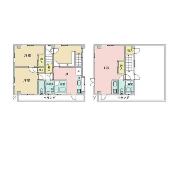 松原町の新築建売 3LDK(1380)の2F間取り画像 ジェットの建売が有名ですが坂井建設の建売物件もぜひ見てください!