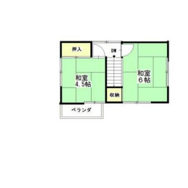 中戸次の新築建売 3LDK(1180)の2F間取り画像 ジェットの建売が有名ですが坂井建設の建売物件もぜひ見てください!