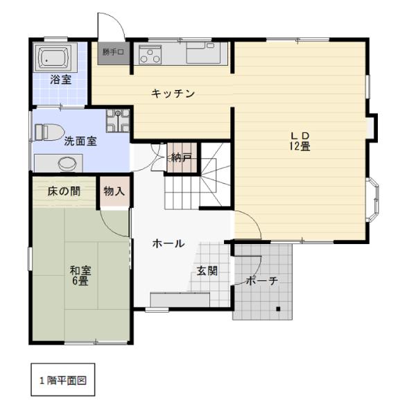 杉原の新築建売 5LDK(980)の1F間取り画像 ジェットの建売が有名ですが坂井建設の建売物件もぜひ見てください!