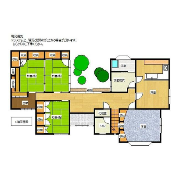市場の新築建売 7LDK(750)の1F間取り画像 ジェットの建売が有名ですが坂井建設の建売物件もぜひ見てください!